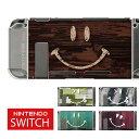 【スマイル】ニンテンドースイッチ 本体 ケース ニンテンドースイッチカバー Nintendo Switch カバー コントローラーケース シール と一緒に 傷 汚れ 防止