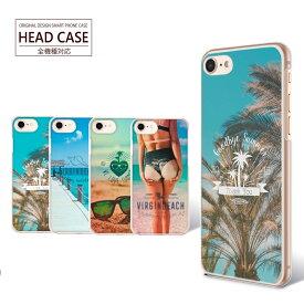 スマホケース 全機種対応 Sea iPhone11 iPhone XS Max iPhone8 Plus ケース カバー 海 風景 ビーチ クリアケース ハードケース お洒落 夏 Google Pixel 3a XL F-02L Galaxy SCV43 SCV42 AQUOS R3 SHV44 705KC HUAWEI Mate 20 Pro XPERIA