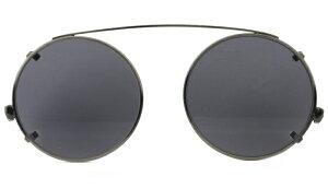 ジョンレノン クリップオン サングラス JL-901C/2 アンティークシルバー/グレー 前掛け メガネ 眼鏡 新品 送料無料