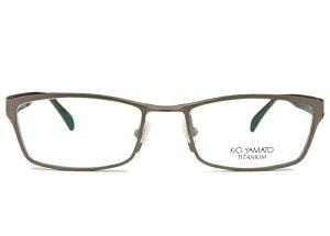 ■キオヤマト KIO YAMATO ■kt-311 c.46 マッドグレー■メガネ めがね 眼鏡■鼻パッド メンズ 新品 送料無料■52□19