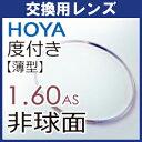 【交換用】 HOYA【セルックス982】薄型非球面1.60レンズ(フレーム持ち込み交換用、1組)注:カラーレンズには対応出来ません。