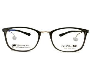 ■ネオジン NEOJIN■nj3103 c.40 カーキ■鼻パッドなし サイドパッド■伊達 メガネ めがね 眼鏡■メンズ レディース ユニセックス 新品 送料無料■53□19