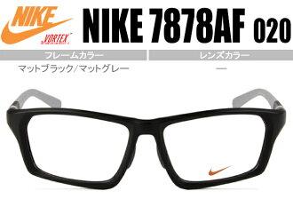 ■ 나이키 NIKE VORTEX ■ 매트 블랙/매트 그레이 ■ 코 과도 유형 ■ ■ 근 시 난시 원시 염가 안경 안경 ■ 7878AF 020 nk035
