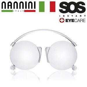 SOS エスオーエス リーディンググラス 老眼鏡 NANNINI ポケット 名刺サイズ 軽量 クロネコDM便・宅配便選択可