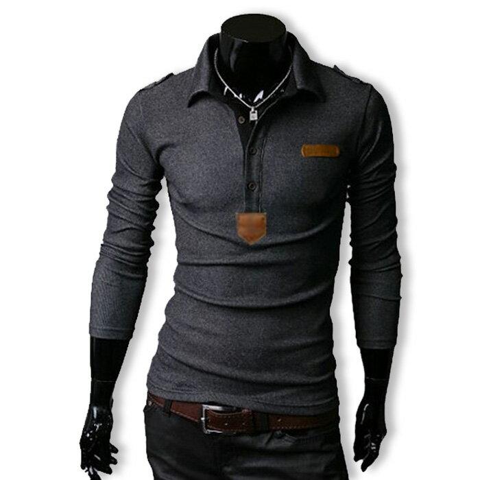 3日間限定 全品10%OFF&ポイント2倍 長袖シャツ メンズ ポロシャツ tシャツ ロンT カットソー ロングスリーブ エポレット ゴルフウェア トップス カジュアル オラオラ系 ファッション 冬服