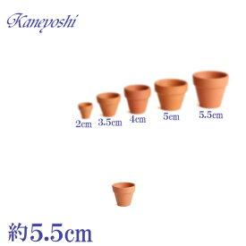 植木鉢 陶器 おしゃれ サイズ 5.5cm ミニミニテラコッタ