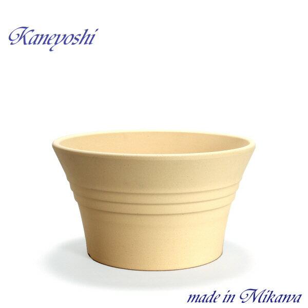 安くて丈夫 おしゃれ 植木鉢 陶器 サイズ 31cm ビオラ 10号 白焼