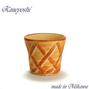 安くて丈夫 おしゃれ 植木鉢 陶器 サイズ 23cm ハーブのかおり オレンジ 7号