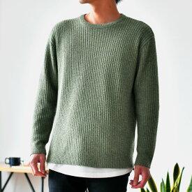 柔らかニットセーター/tn1122/2カラーS〜XL