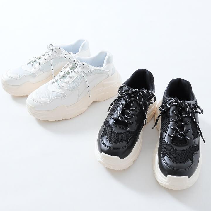 【SALE】ダッドスニーカー 靴/a203-CLE20-461/2カラーS(25.5cm) .M(26.5cm) .L(27.5cm)