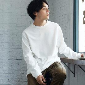 Tシャツ メンズ リキッドサーモカットソー 暖かい 秋冬 無地 インナー トップス/tt1559(208)/全4色XS〜XXL