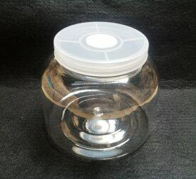 空クリアワイドボトル 2300ml(穴あけ加工済、フィルター付き) バラ1本