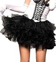 ミニスカート パニエのみ 黒 ブラック ダンス 衣装 ヒップホップ コスプレ ハロウィン 仮装 コスチューム コスプレ衣…