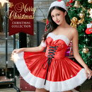 サンタコスプレクリスマスコスプレコスチューム大人ミニスカサンタ衣装セクシーサンタクロースクリスマスコスチュームファー付き定番サンタコスプレレディース赤パーティー大人通販コスプレ衣装2019costume