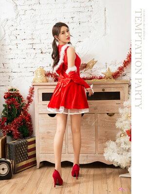 サンタコスプレクリスマスコスプレ大人サンタコス可愛いかわいいレディース衣装セクシーサンタクロースクリスマスコスチュームパーティーブラックサンタミニスカサンタ即日2019cosplaycostume