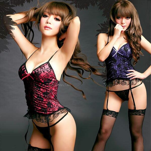 セクシー ランジェリー sexy lingerie セクシー下着 3in1 スリーインワン ガーターベルト セット バレンタイン 勝負下着 エロ 過激 sexylingerie エロイ 下着 ベビードール エロい インナー
