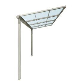テラス屋根 スピーネ リクシル 2.5間通し 間口4550ミリ×出幅2685ミリ テラスタイプ 屋根F型 耐積雪強度20cm 自在桁 リフォーム DIY