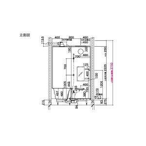 【3月はエントリーでP10倍】ユニットバスシステムバスルームLIXIL/リクシルアライズCタイプS1216(0.75坪)サイズアクセント張りB面戸建用浴槽浴室お風呂リフォーム