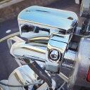 ドラッグスター 400 ブレーキ マスターシリンダー カバー/ブレーキカバー/クロームメッキ/DS400/DSC400/カスタム