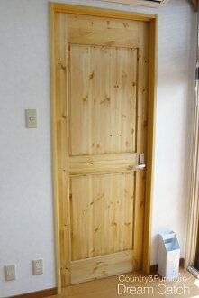 [乡村家具]用订货门(室内门)希望的尺寸做!乡村门木制门松树[成品]