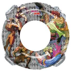 ジョジョの奇妙な冒険 90cm 浮輪 浮き輪 うきわ ウキワ キャラクター ロープ付き プールや海水浴に 男の子 子供から大人まで 子ども こども 対象年齢12歳以上
