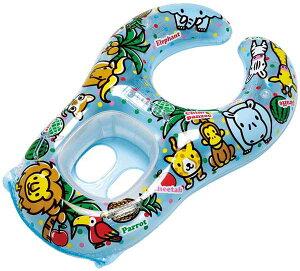 親子で一緒に入れる足入れ浮き輪 フォレストアニマル タンデムボート ベビーボート うきわ ウキワ 浮輪 プールや海水浴に 男の子や女の子 子供 子ども こども 対象年齢1.5〜3歳未満と大人が