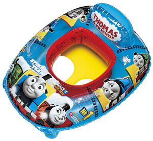 きかんしゃトーマス 足入れボート ベビーボート 浮き輪 浮輪 うきわ ウキワ 取っ手付 プールや海水浴に 機関車トーマス キャラクター 男の子 子供用 子ども用 こども用 幼児用 対象年齢 1.5