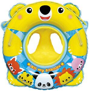 浮き輪 子供 足入れ ベビー浮き輪 足入れうきわ ベビーうきわ ベアーランド 浮き輪 浮輪 ウキワ 取っ手付 プールや海水浴に 男の子 女の子 子供用 子ども用 こども用 幼児用 対象年齢 1.5歳 2