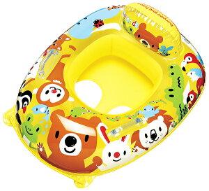 浮き輪 子供 足入れ ベビー浮き輪 足入れボート ベビーボート フォレストアニマル 浮き輪 浮輪 ウキワ 取っ手付 プールや海水浴に 男の子 女の子 子供用 子ども用 こども用 幼児用 対象年齢