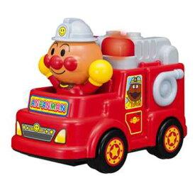 アンパンマン おもちゃ 消防車 1歳半 1歳6ヶ月 2歳 光る おしゃべり消防車 サイレン音 放水音 手転がし 知育玩具