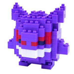 ナノブロック NBPM_007 ポケットモンスター ポケモン ゲンガー nanoblock nanoブロック マメログ mamelog ダイヤブロック おもちゃ 知育玩具