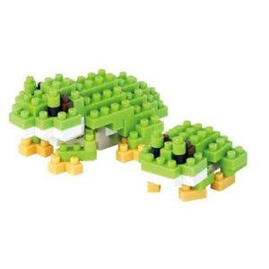 ナノブロック アマガエル nanoblock nanoブロック マメログ mamelog ダイヤブロック おもちゃ 知育玩具