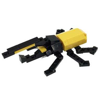 ナノブロック プラス ヘラクレスオオカブト nanoblock+ nanoblock nanoブロック マメログ mamelog ダイヤブロック おもちゃ 知育玩具