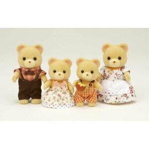 シルバニアファミリー FS-04 クマファミリー おもちゃ ぬいぐるみ 人形 知育玩具