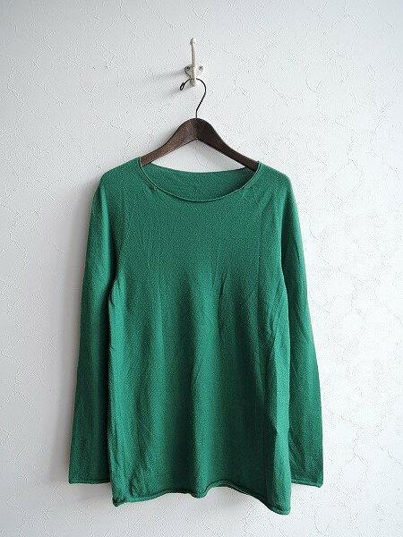 糸衣 Itoi カシミヤホールガーメントセーター -【中古】【71J71】【高価買取中】