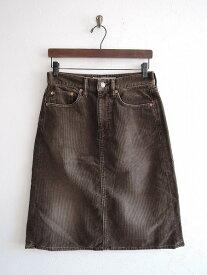 オムニゴッド OMNIGOD コーデュロイ台形スカート 1【中古】【21K71】【高価買取中】【店頭受取対応商品】