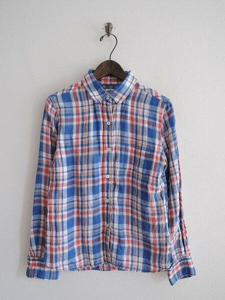 アメリカンラグシー AMERICAN RAG CIE チェックシャツ 0【中古】【31E81】【高価買取中】【店頭受取対応商品】
