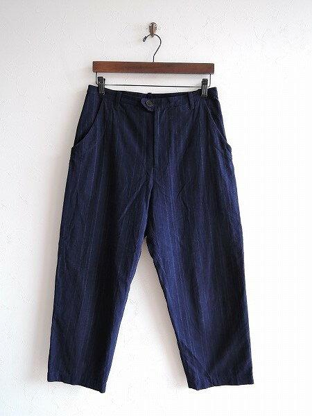 ミナペルホネンランドリー mina perhonen laundry night river パンツ 38【中古】【42J81】【高価買取中】【店頭受取対応商品】