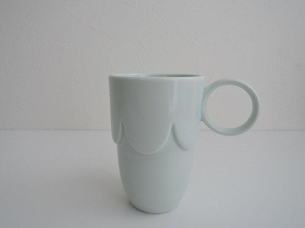 ミナペルホネン mina perhonen pudding マグカップ whiteホワイト【中古】【21K81】【高価買取中】【店頭受取対応商品】