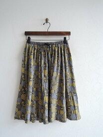 マーブルシュッド marble SUD ツブツブフラワーギャザースカート -【中古】【82I91】【高価買取中】【店頭受取対応商品】