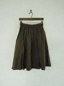 オーディナリーフィッツ Ordinary fits リネンブレンドギャザースカート 0【中古】【11I91】【高価買取中】【店頭受取対応商品】