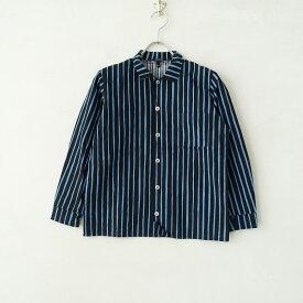 マリメッコ marimekko ストライププリントシャツ 130【中古】【70H02】【高価買取中】