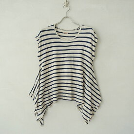キャピタル KAPITAL コットンボーダーテントTシャツ 0【中古】【22G02】【高価買取中】