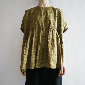 【新品】 アプントビー apuntob vichy habotay silk over shirt シルクブラウス 2【中古】【61J02】【高価買取中】
