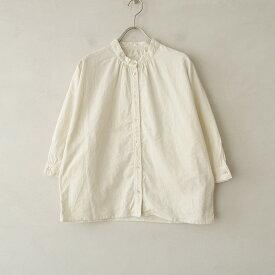 マガリ MAGALI コーデュロイバンドカラードルマンスリーブシャツ -【中古】【32D12】【高価買取中】