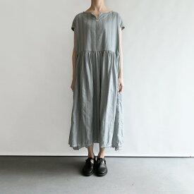 【新品】 アッシュプリュス アノー ヴェセル H+ HANNOH WESSEL Dress Rubina 模様織りワンピース 38【中古】【91D12】【高価買取中】