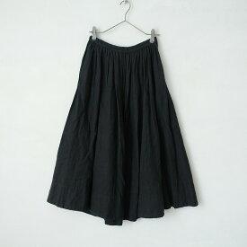 ネストローブ nest Robe リネンギャザースカート F【中古】【91D12】【高価買取中】
