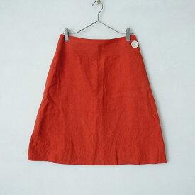 サリースコット Sally Scott リネン台形スカート 11/67-93【中古】【91D12】【高価買取中】