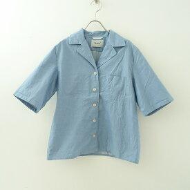 ヤエカ YAECA 15166 コットンオープンカラーシャツ M【中古】【91D12】【高価買取中】