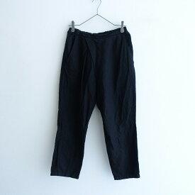 【黒染】 ネストローブ nest Robe リネンタックパンツ -【中古】【12D12】【高価買取中】